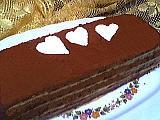 Image : recette Pavé chocolat et café