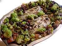 Image : Plat de soles et sa fricassée de légumes