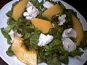 Salade de lotte à la mangue