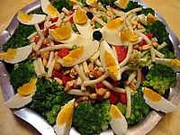macaroni : Salade de pâtes aux brocolis