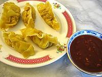 Recette Assiette de raviolis chinois