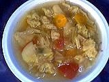 Bouillon de boeuf : Assiette de soupe au chou