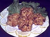 couscous semoule grains sec : Assiette de croquettes de poulet