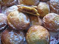Recette bouchées feuilletées aux dattes et aux noix