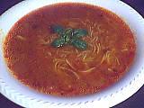 vermicelle : Assiette de tourin à la tomate