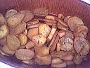 Pommes de terre parfumées au vin rouge - 5.1