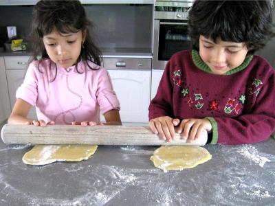 Photo : Pour abaisser la pâte que d'efforts !