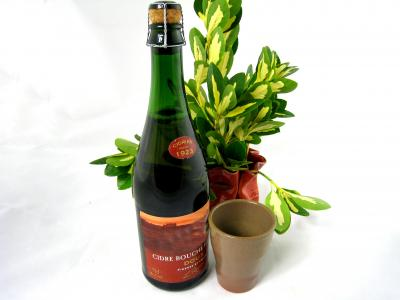 Photo : Bouteille de cidre