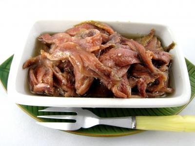 Photo : Ramequin d'anchois à l'huile
