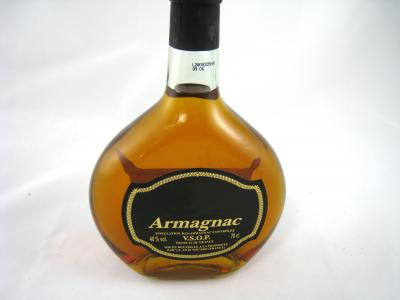Photo : Bouteille d'armagnac