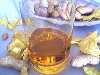 Photo : Bouteille de bourbon