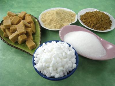 Quelques variétés de sucre