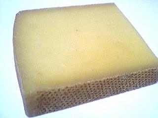 Photo : Tranche de fromage comté