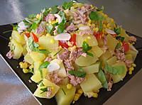 Salade de thon et maïs