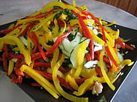 Salade de boulghour et poivrons
