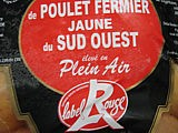 Label Rouge poulet fermier