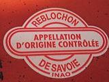 Etiquette A.O.C. du reblochon