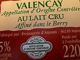 étiquette Valençay
