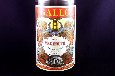 Photo : Bouteille de vermouth