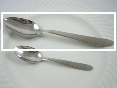 Photo : conversion de cuillère à soupe