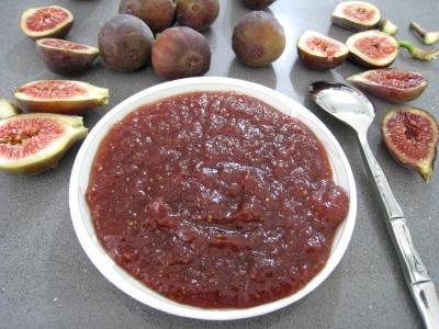 Recette Coupelle de chutney de figues aux épices