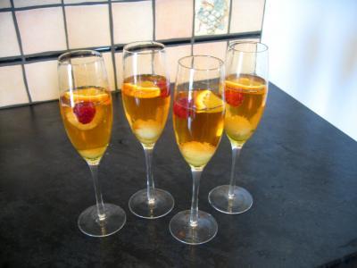 Image : Verres de cocktail au champagne