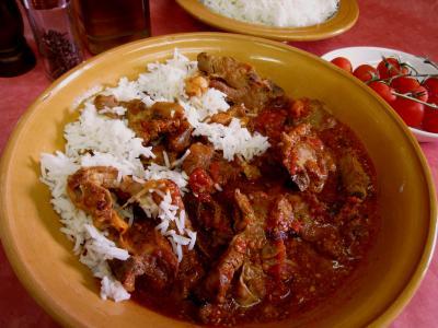 Image : Assiette d'agneau façon Turque