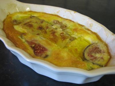 flan de foie gras aux panais