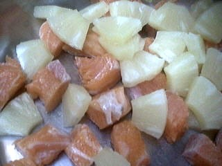 Brochettes de saumon à l'ananas - 5.1