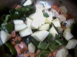 Brochettes de saumon à l'ananas - 5.3