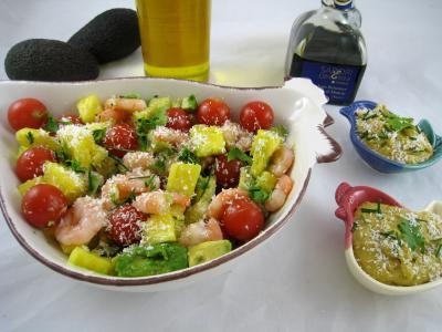 Cuisine antillaise : Salade exotique d'ananas
