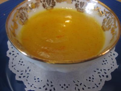 gousse de vanille : Coupelle de curd aux clémentines
