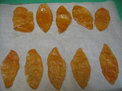 Ecorces de pomélos ou pamplemousses confits - 10.1