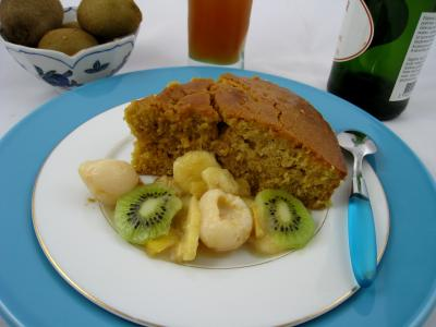 Photo : Gâteau au yaourt à la Grècque