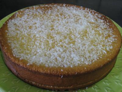 Recette Gâteau à la noix de coco