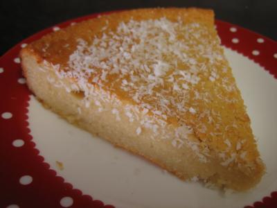 Gâteau la noix de coco