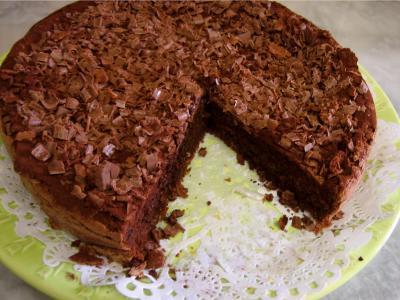 Image : gâteau au chocolat