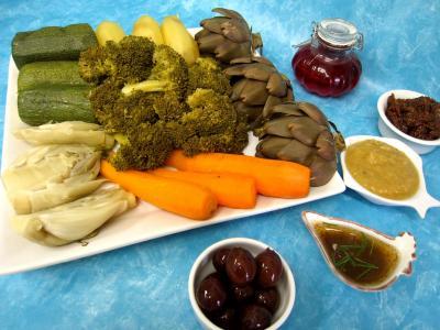 Image : Assortiment de légumes vapeur