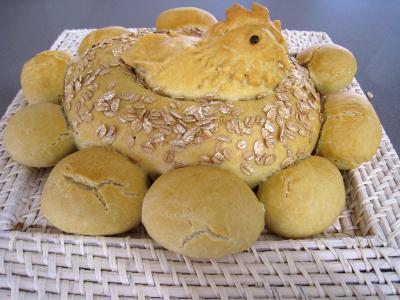 Recette Poule de Pâques et ses oeufs