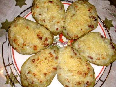 béchamel : Assiette de chayottes gratinées à la réunionnaise
