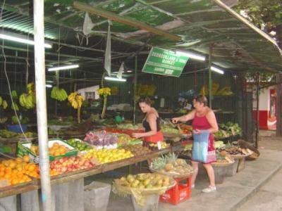 les ventes de fruits