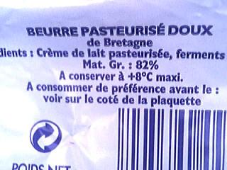 Beurre doux