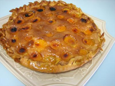 Recette Tarte aux abricots pour diabétiques