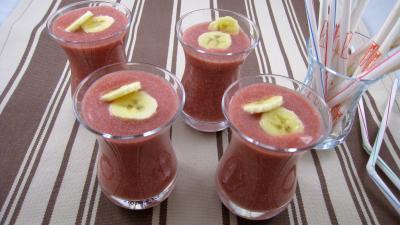 boisson fraise banane