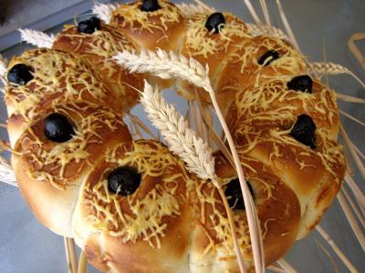 pain à l'emmental