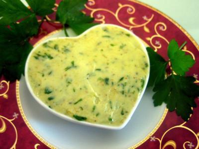 Beurres : Ramequin de beurre aux herbes aromatiques