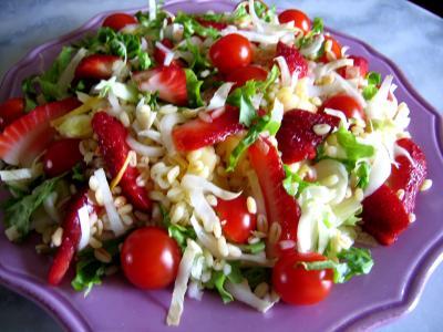 salade de blé aux fruits