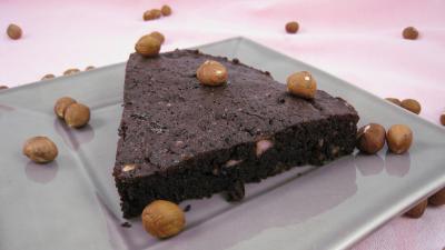 Recette Tranche de gâteau basque au chocolat