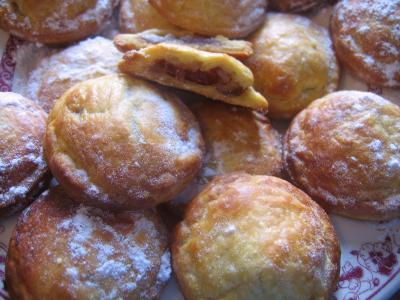 bouchées feuilletées aus dattes