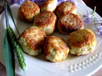 Recette Assiette de boulettes de volaille, sauce au fromage blanc